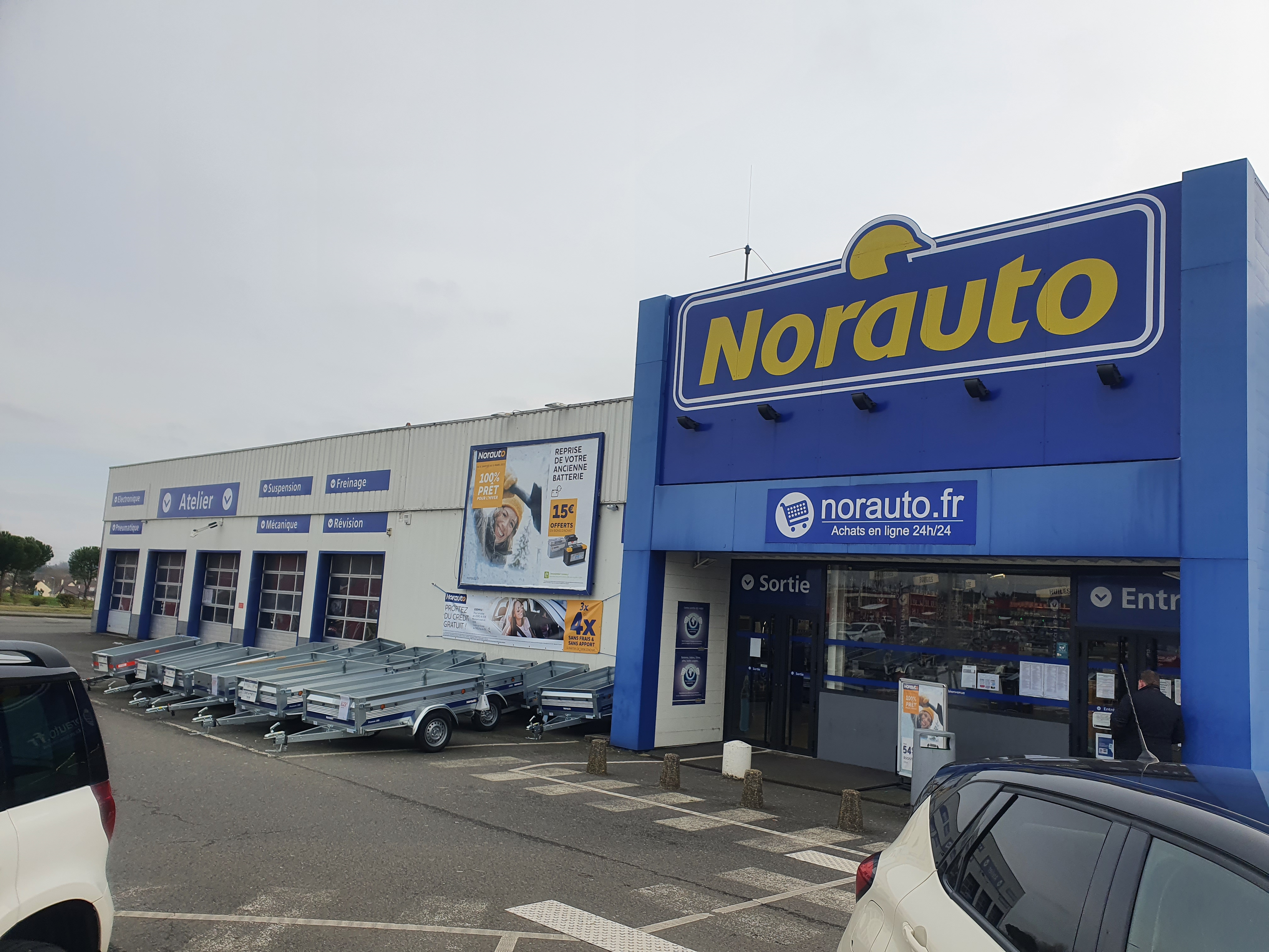 Votre centre auto Norauto Bourges