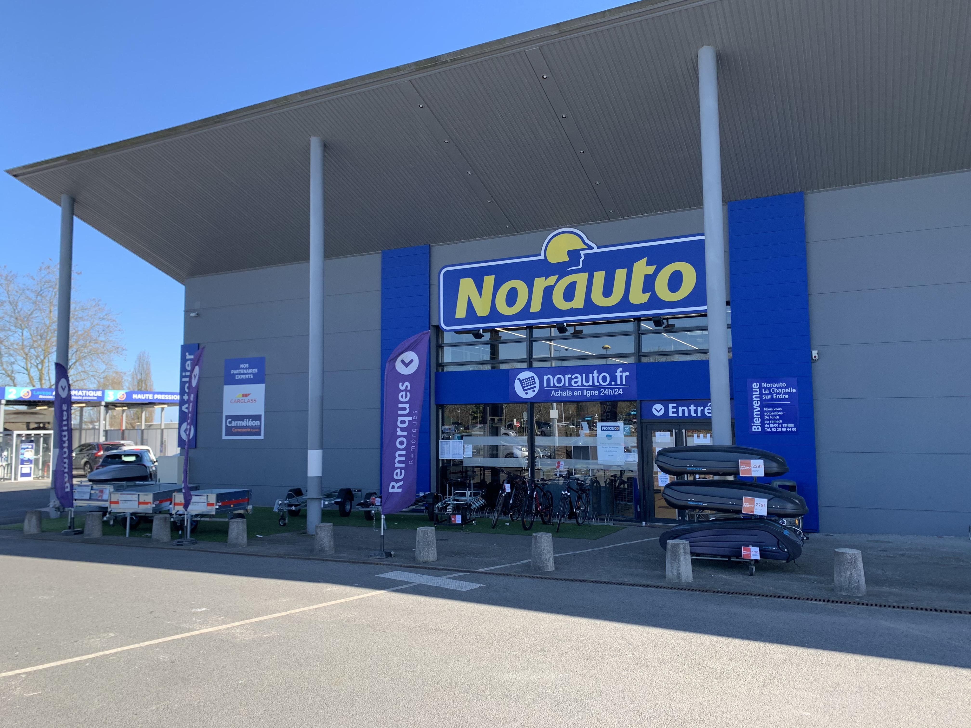 Votre centre auto Norauto La Chapelle Sur Erdre