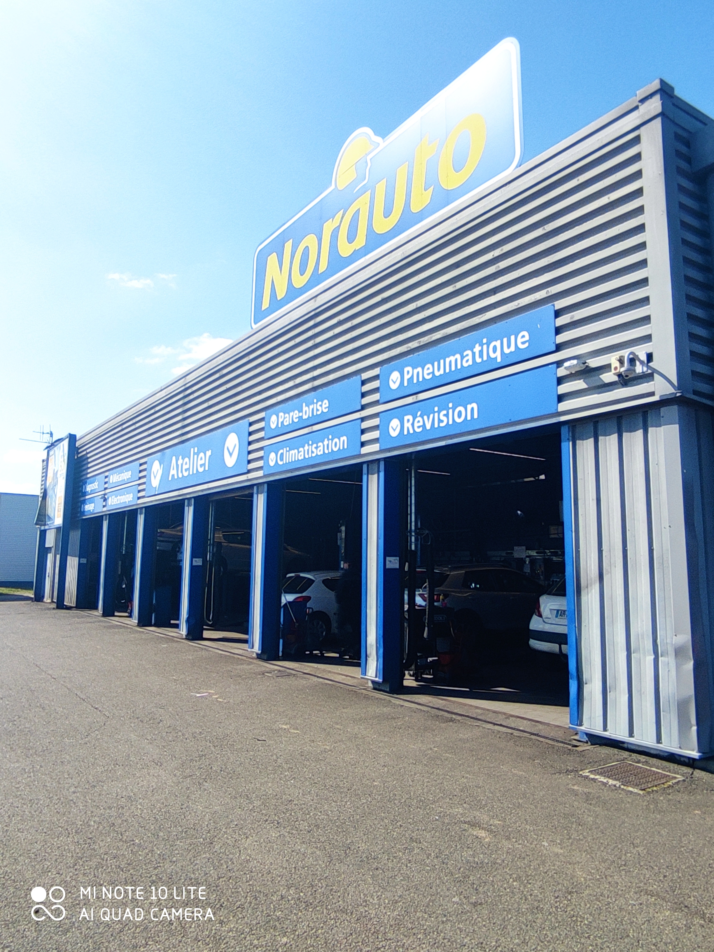 Votre centre auto Norauto Allonnes
