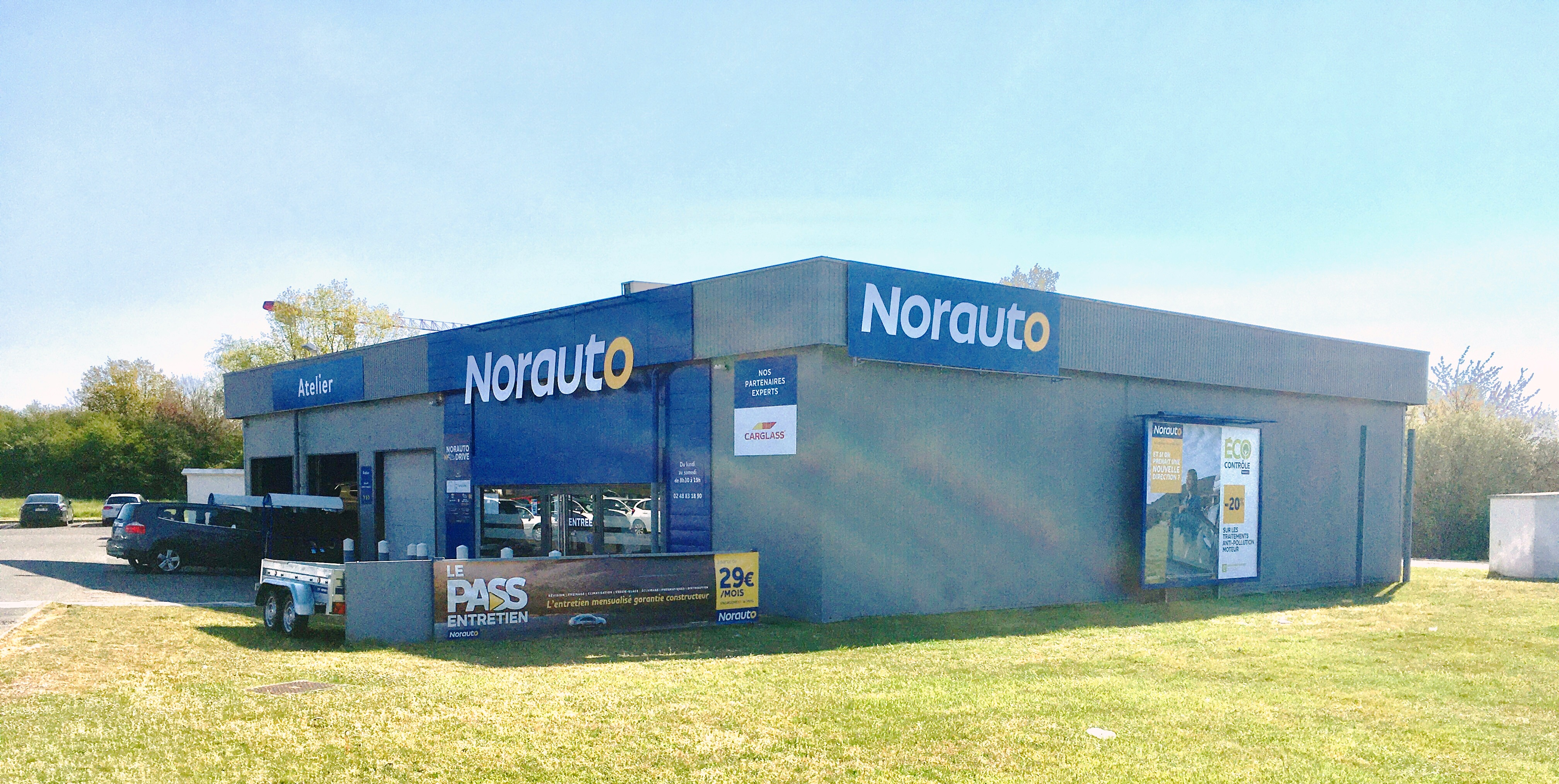 Votre centre auto Norauto Vierzon