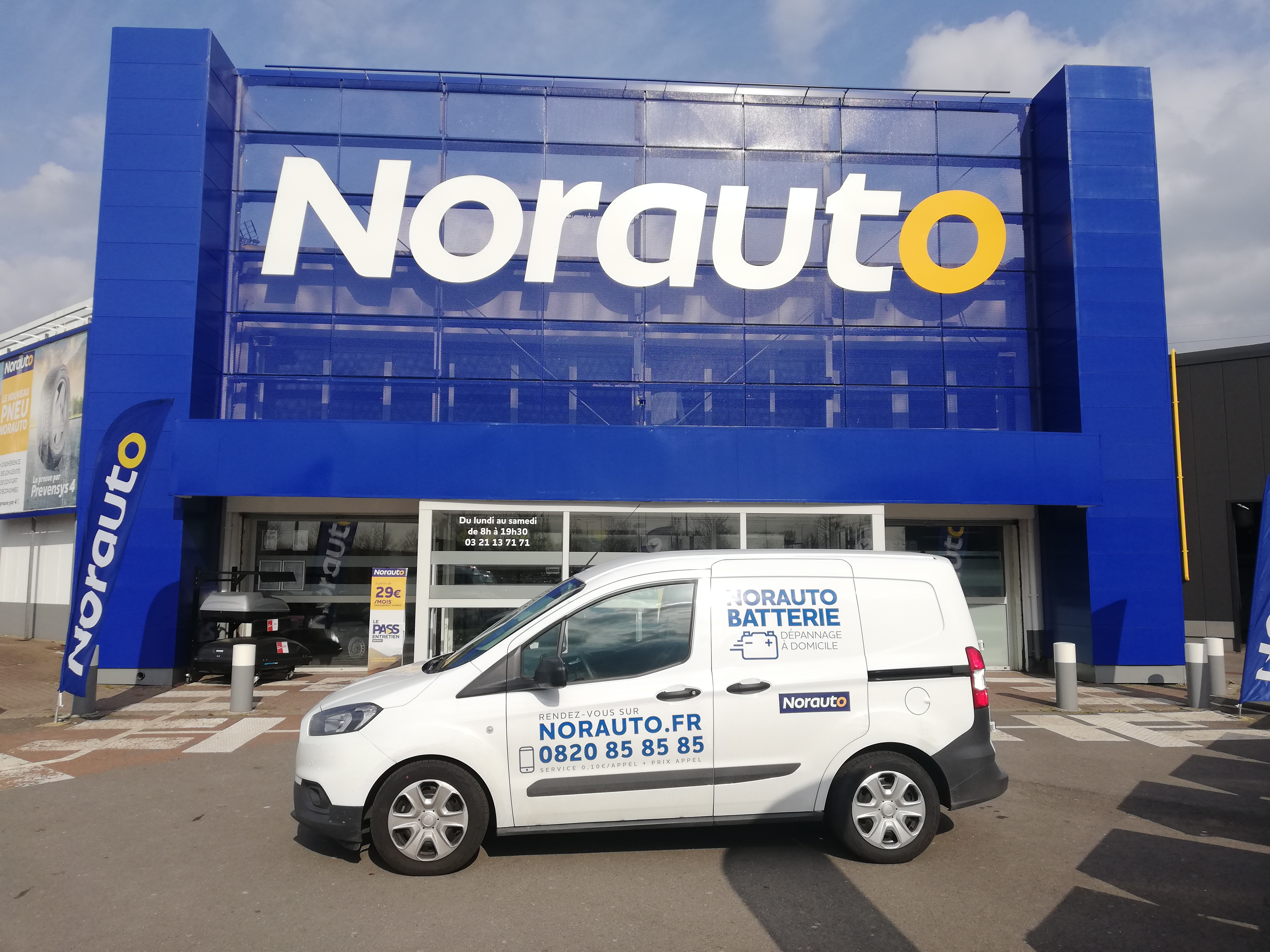 Votre centre auto Norauto Noyelles Godault