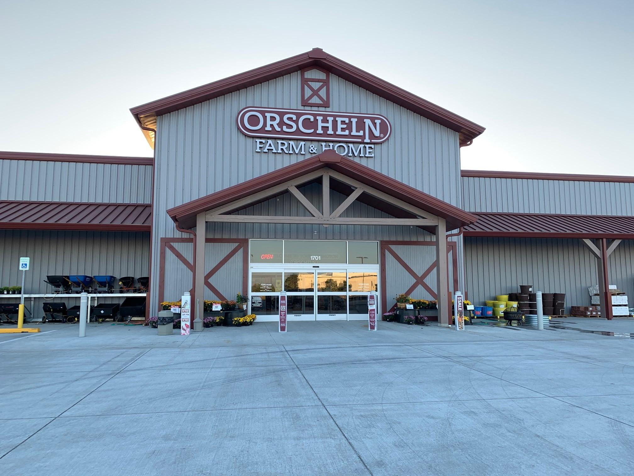 Front view of Orscheln Farm & Home Store in Seward, Nebraska 68434-2707
