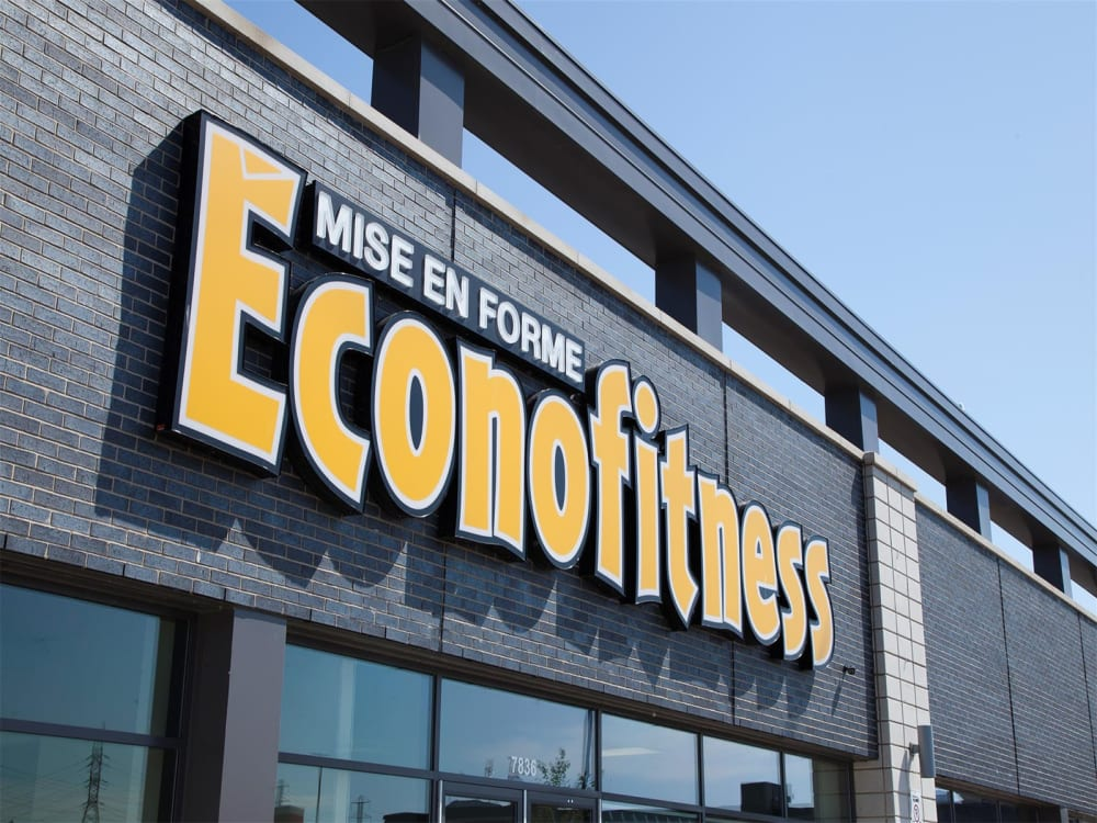 ÉconoFitness Granby (Carrefour Bouchard) 24/7 gym