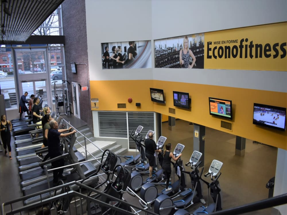 ÉconoFitness Montréal - Kirkland (boul. St-Charles) 24/7 gym