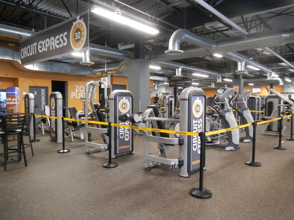 ÉconoFitness Laval - Place Bell gym