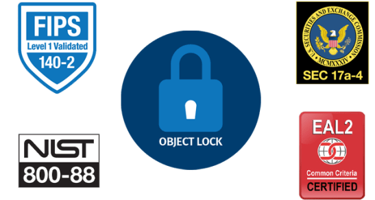 object lock certifications