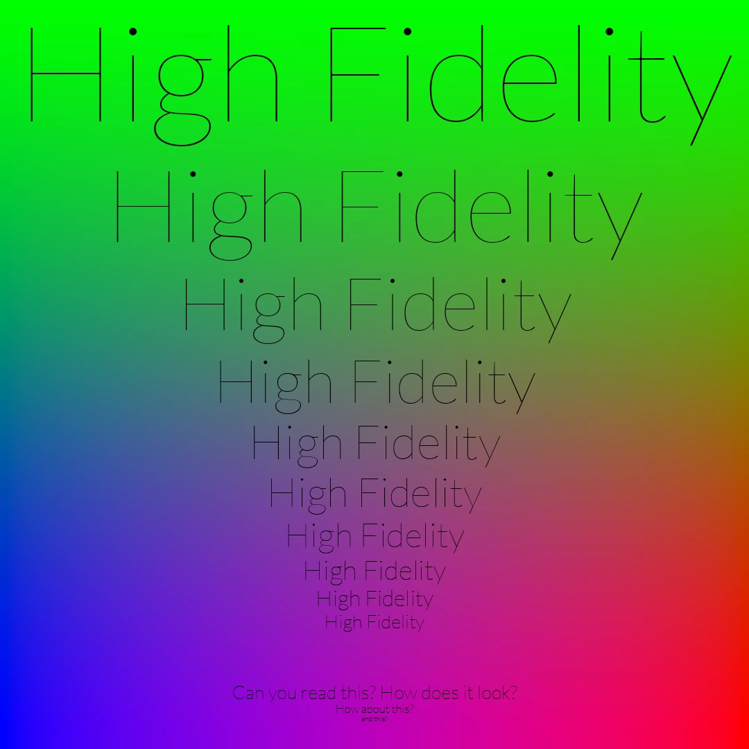 high fidelity WebP