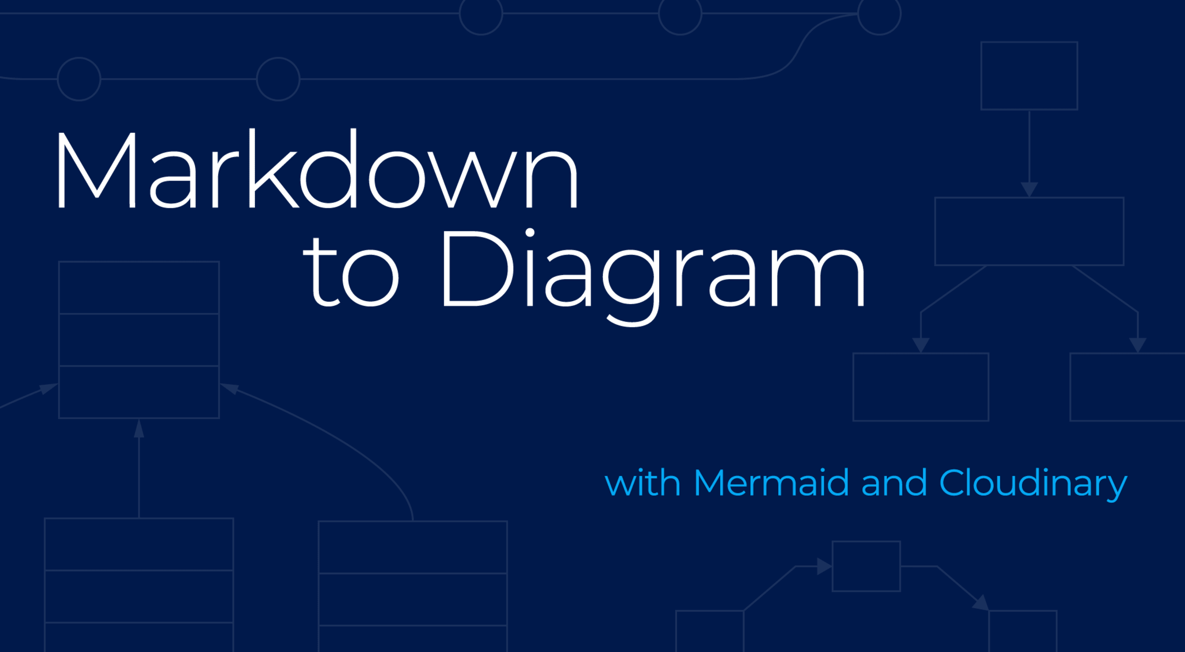 Create Markdown Diagrams And Charts