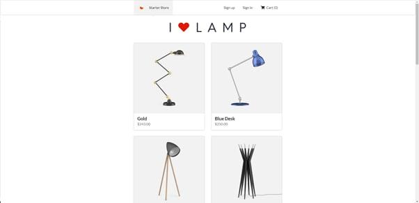 gatsby e-commerce