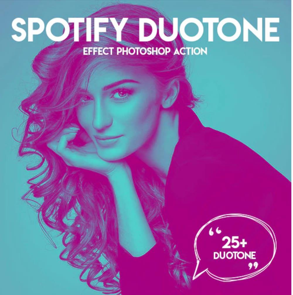 Duotone Spotify