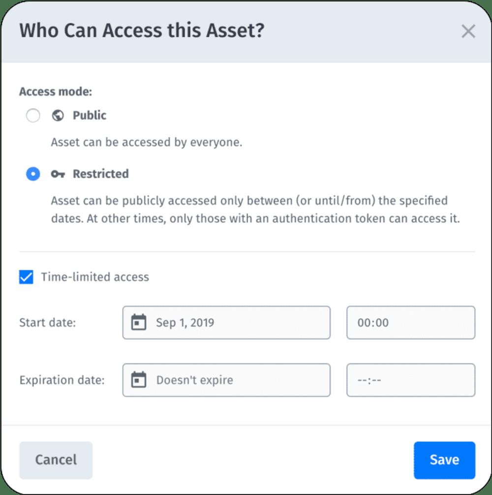 access control settings