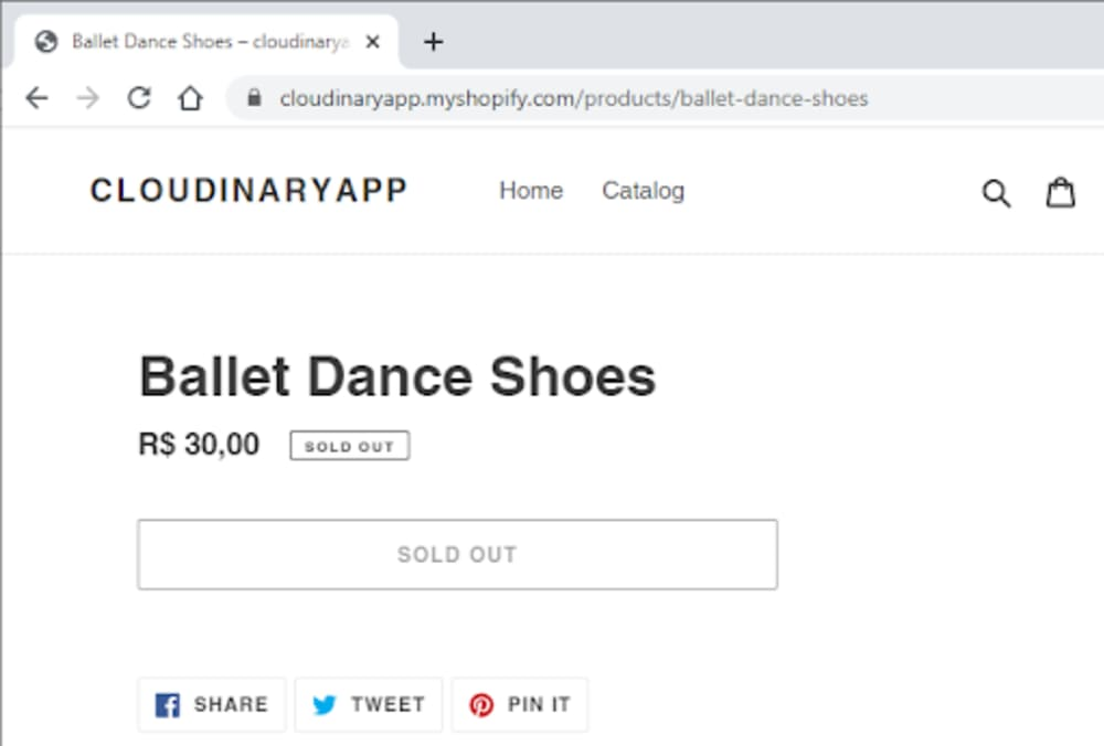 Ballet Dance Shoes