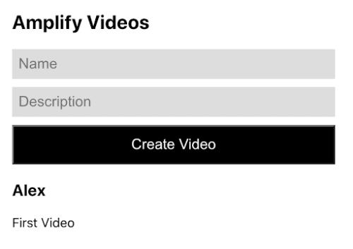 Amplify video
