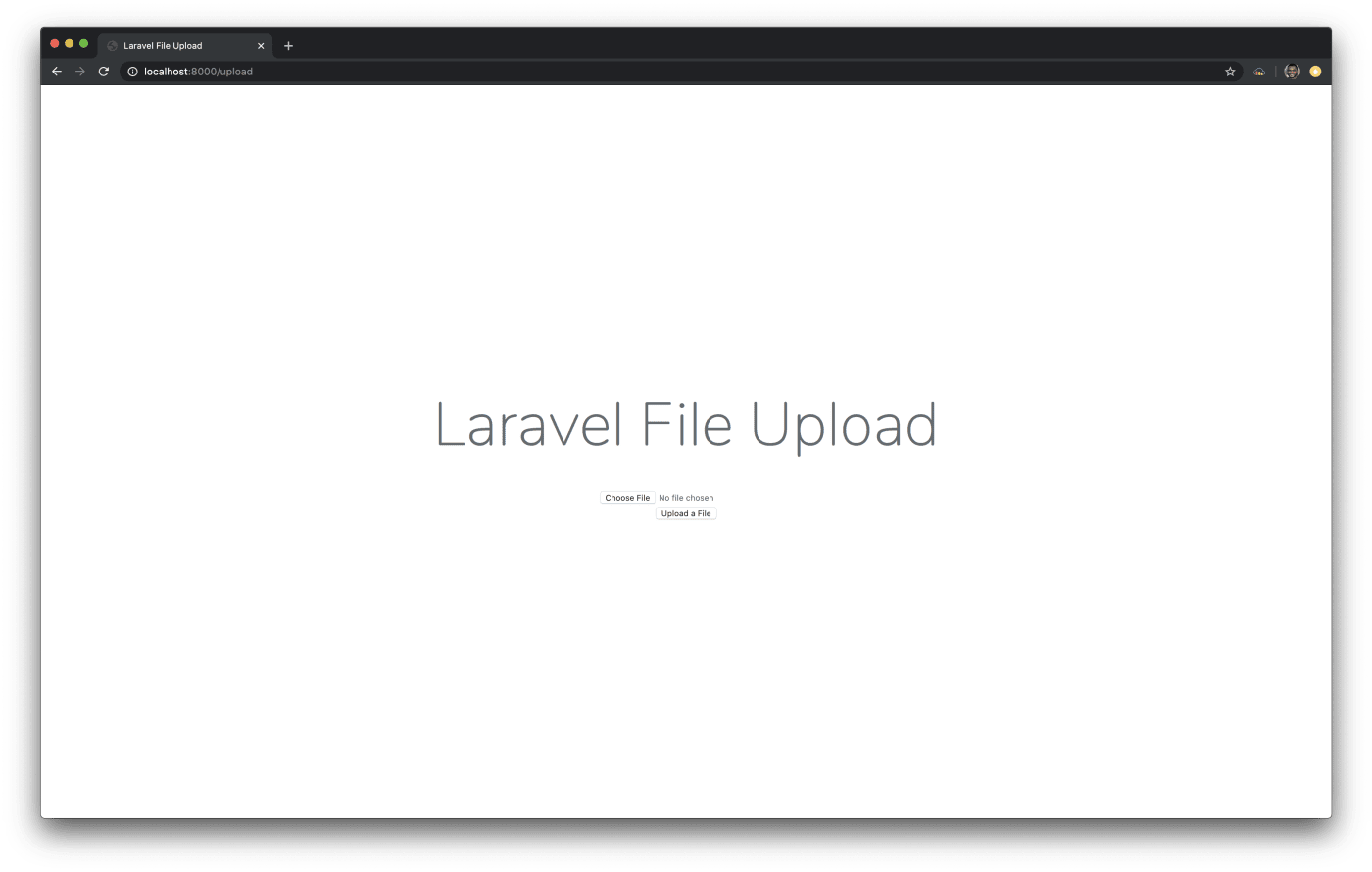 laravel file upload