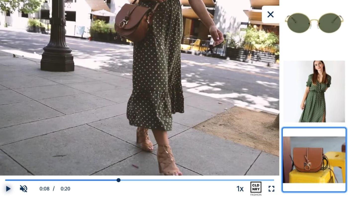 Shoppable video