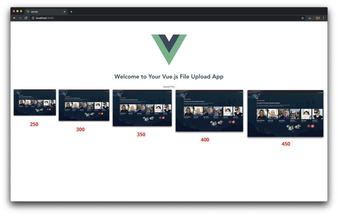 vue file upload