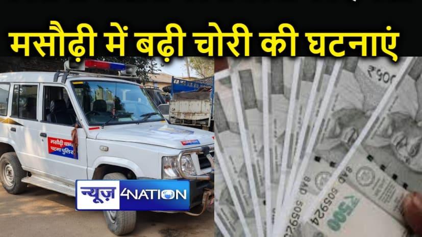 मसौढ़ी में बीच बाजार उचक्कों ने ब्लेड मार झोले से 50 हजार रुपये उड़ाये