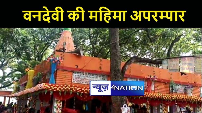 पटना में 370 साल पहले हुई थी माँ वन देवी मंदिर की स्थापना, नवरात्र में जुटती है भक्तों की भारी भीड़