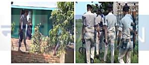 AK-47 की तलाश में चप्पे-चप्पे को खंगाल रही पुलिस, एसपी के नेतृत्व में चल रहा सर्च ऑपरेशन