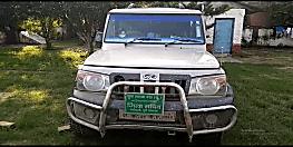 जदयू नेता की गाड़ी से शराब की बड़ी खेप बरामद, नेताजी की तलाश में पुलिस कर रही छापेमारी