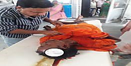 जमुई में बैरियर से टकराया कांवड़िया वाहन, दो की मौत चार घायल