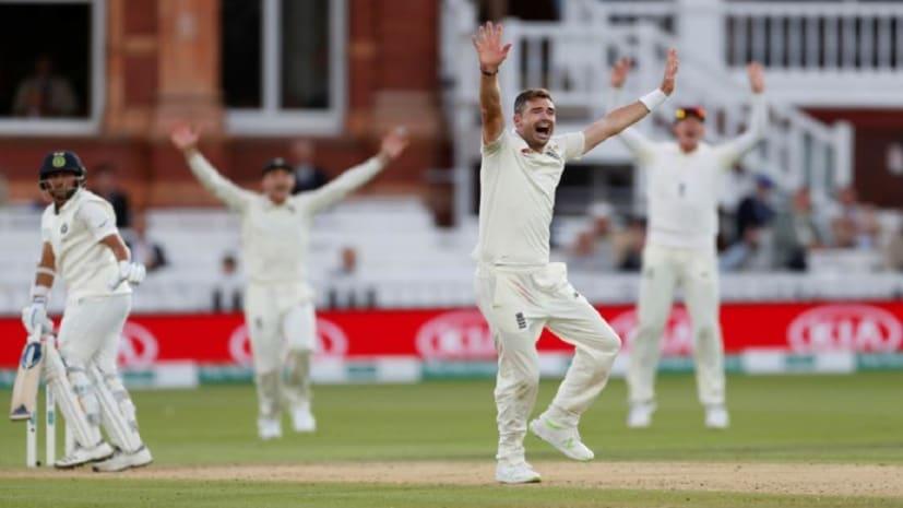 एंडरसन के आगे झुकी टीम इंडिया, पहली पारी में 107 रन पर ढेर