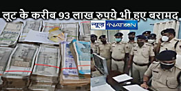 CRIME NEWS: एचडीएफसी बैंक लूट कांड का उद्भेदन, करीब 93 लाख रूपये भी हुए बरामद