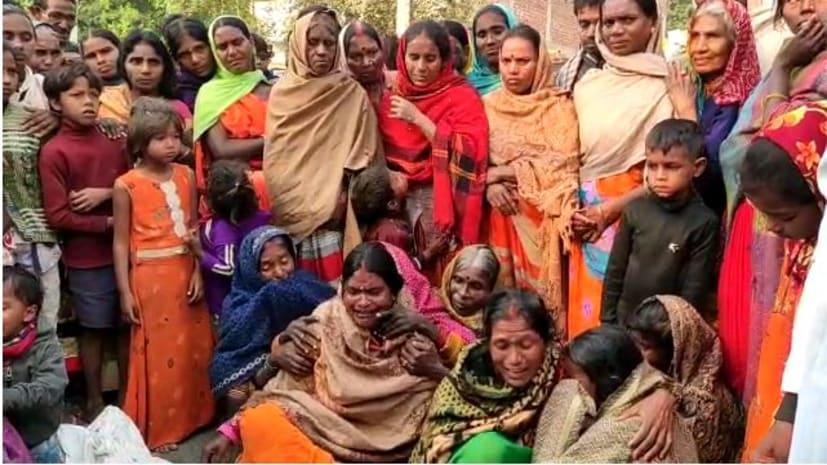 औरंगाबाद जिले के तेयाप गांव में पिछले दिन हुए वाहन दुर्घटना में गंभीर रूप से जख्मी मजदूर की मौत, मुआवजे को लेकर किया सड़क जाम