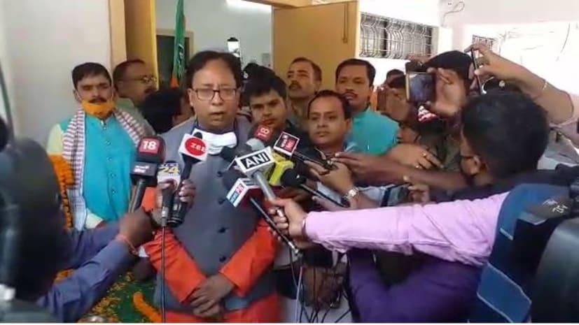 बीजेपी प्रदेश अध्यक्ष संजय जयसवाल ने राहुल गांधी पर बोला हमला, कहा- आतंकवादियों की भाषा बोल रहे हैं युवराज