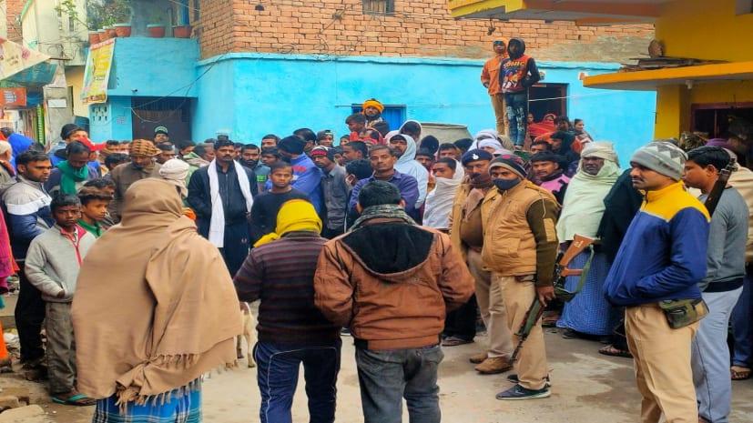 पटनासिटी में अपराधी बेलगाम, फल दुकानदार को अपराधियों ने मारी 3 गोली, मौके पर ही मौत