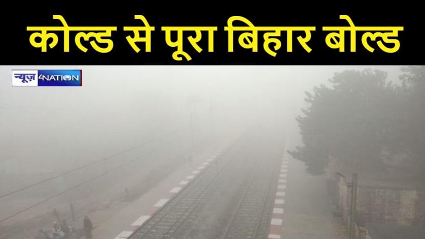 19 किमी प्रति घंटा की रफ्तार से चलने वाली बर्फीली हवाओं से ठिठुरा बिहार, डॉक्टरों ने किया अर्लट