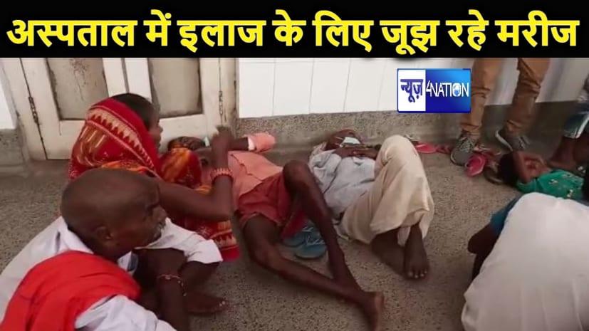 स्वास्थ्य विभाग की खुली पोल: मेडिकल कॉलेज में फर्श पर लेटे तड़पते रहे मरीज, डॉक्टर रहा नदारद