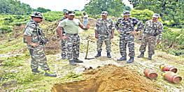 नक्सलियों की बड़ी साजिश को सुरक्षा बलों ने किया नाकाम,  5 शक्तिशाली सिलेंडर बम को किया बरामद