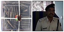 पुलिस की छापेमारी का दिख रहा असर, AK 47 की तलाश में मिले 122 जिंदा कारतूस