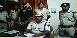तीन जिलों में मोस्ट वांटेड सत्यम झा गिरफ्तार, पुलिस की वर्दी पहन लूट की घटना को देता था अंजाम