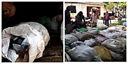 बिहार में मिल रही झारखंड की शराब, ट्रक से भारी मात्रा में शराब की बरामदगी