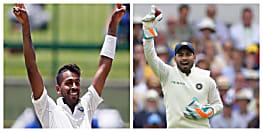 ऋषभ पंत ने बनाया रिकॉर्ड - पहले भारतीय विकेटकीपर जिसने डेब्यू टेस्ट की पहली पारी में ही लपके पांच कैच, भारत को 168 रनों की लीड