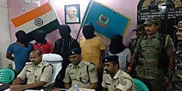 अपराधियों की मंशा पर फिरा पानी, अपहरण की वारदात को अंजाम देने से पहले पांच को किया गिरफ्तार