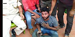 नवादा में घटना को अंजाम देने की फ़िराक में था युवक, पुलिस ने किया गिरफ्तार