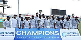 भारत ने 2-0 से जीती सीरीज,  दूसरे टेस्ट में भी वेस्टइंडीज 257 रनों से हारा