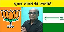 बिहार की सियासी हलचल : भाजपा-जदयू बना रहा चुनावी किला फतह करने की रणनीति - आरके राजू