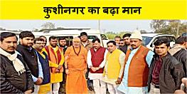 राम जन्मभूमि शिलान्यास कार्यक्रम में जायेंगे कुशीनगर के स्वामी जितेन्द्रानंद सरस्वती, इलाके में हर्ष का माहौल