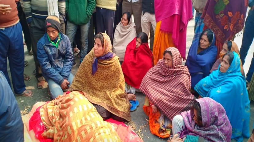 मुजफ्फरपुर में आमने-सामने टकराई बाइक, 1 व्यक्ति की मौत, आक्रोशित लोगों ने किया सड़क जाम