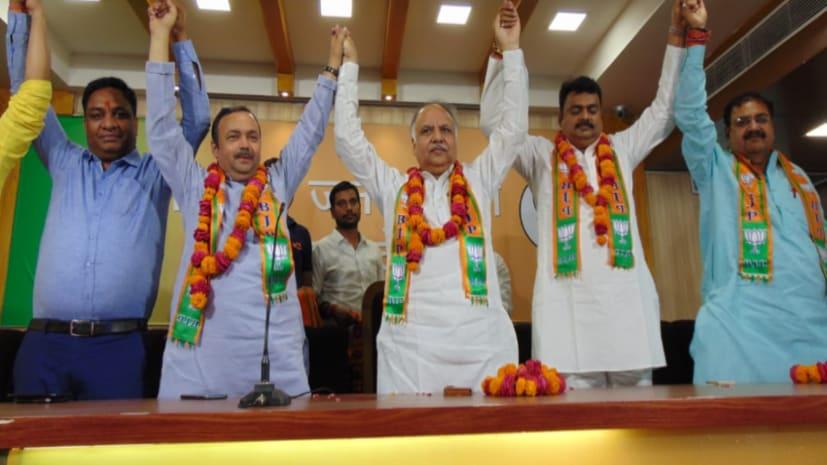 बाहुबली पूर्व विधायक राजन तिवारी ने थामा बीजेपी का दामन, पीएम मोदी में जताई आस्था