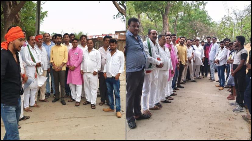 राजेश सिंह का पाटलिपुत्र में धुंआधार प्रचार, पालीगंज में जनसंपर्क कर जनता से मांगा समर्थन