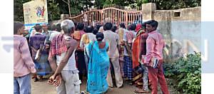 नक्सलियों से संबंध के शक में पुलिस ने 6 लोगों को किया गिरफ्तार, विरोध में ग्रामीणों ने किया थाना का घेराव