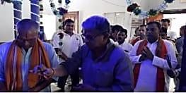 सांसद बनने के बाद पहली बार लखीसराय पहुंचे ललन सिंह, कहा अधूरे कार्यों को जल्द पूरा किया जायेगा
