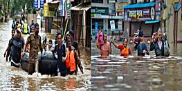 बाढ़ से 4 राज्य बेहाल :  अबतक 194 लोगों की मौत, केरल में 1.25 लाख लोग विस्थापित