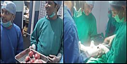 पटना के वीमेंस हॉस्पिटल एंड फर्टिलिटी रिसर्च सेंटर के डॉक्टरों ने किया महिला का जटिल ऑपरेशन, पेट से निकाली गई 2.5 किलो की 10 गांठ