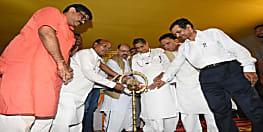 जेपी जयंती के अवसर पर बीजेपी सांसद आरके सिन्हा के साथ दिखे नरेंद्र सिंह, कहीं ये नए सियासी संकेत तो नहीं?